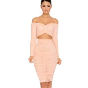 NWT Oh Polly DoTheTwist Bardot Skirt ONLY